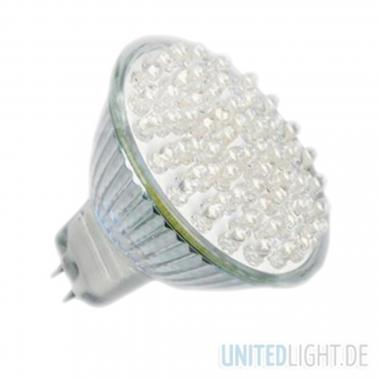 80 LED Strahler MR16 Weiß 12V