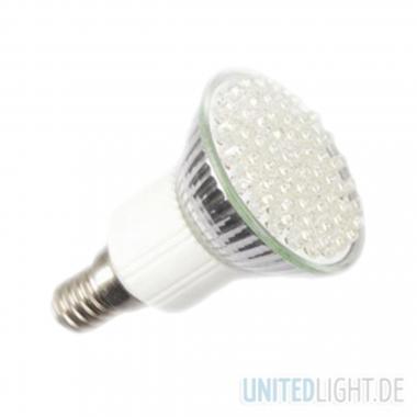 80 LED Strahler JDR E14 Weiß 230V