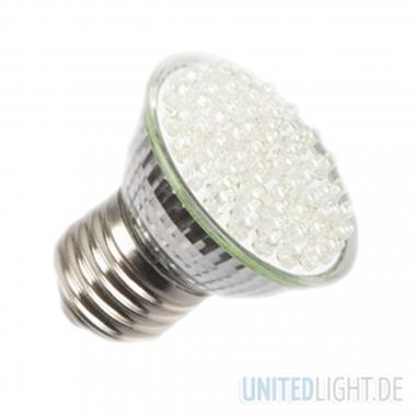 80 LED Strahler E27 Warmweiß 230V