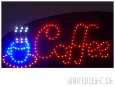 LED Schild Coffee Werbeschild