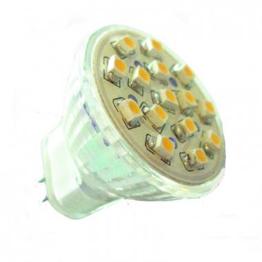 15 SMD Strahler MR11 LED Warmweiß 12V
