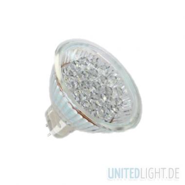 21 LED Strahler MR16 Kaltweiß 12V