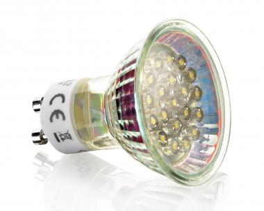 20 LED Strahler GU10 Kaltweiß 230V