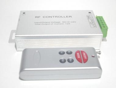 RGB Stripes / Bänder Steuergerät mit Fernbedienung