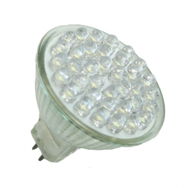High Lumen 128 LED E14 Kerze Warmweiß 550 Lumen