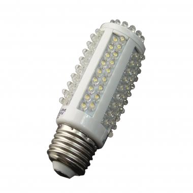 High Lumen 128 LED E27 Kerze Warmweiß 550 Lumen
