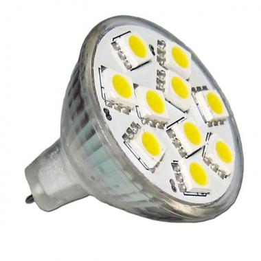 MR11 10 SMD 50/50 Warmweiß 85 Lumen