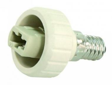 Lampenfassung Adapter Sockel E14 auf G9 Fassung