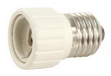 Lampenfassung Adapter Sockel E27 auf GU10 Fassung