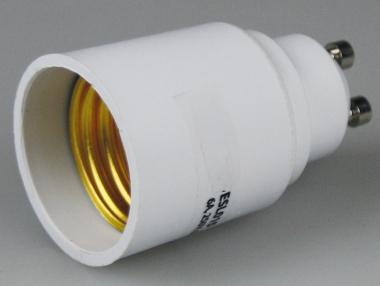 Lampenfassung Adapter Sockel GU10 auf E27 Fassung