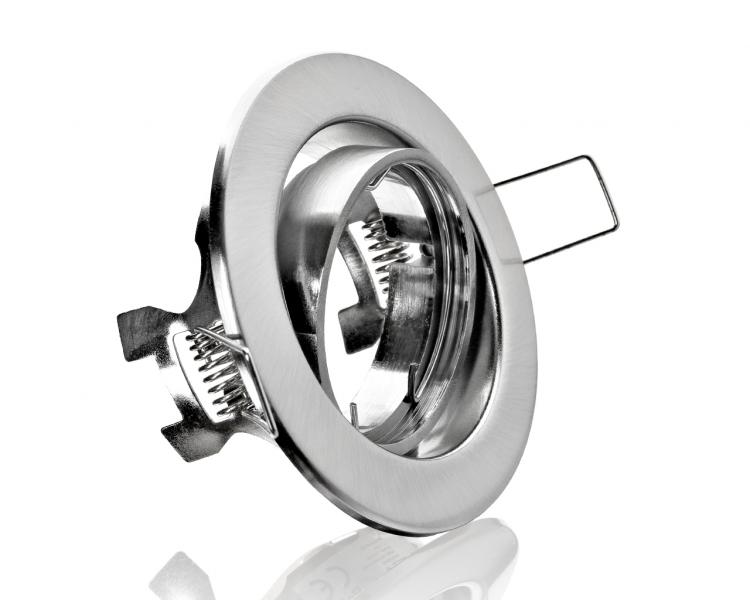 Metall Einbaustrahler Einbauspot GX53 weiß ideal für LED