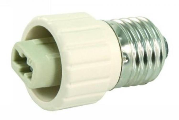 lampenfassung adapter sockel e27 auf g9 fassung unitedlight led shop f r leuchtmittel und. Black Bedroom Furniture Sets. Home Design Ideas