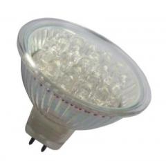 30 LED Strahler MR16 Blau 12V