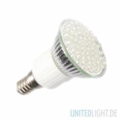 60 LED Strahler JDR E14 Warmweiß 230V