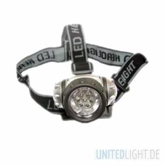 7 LED Kopf und Stirnlampe