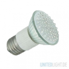 60 LED Strahler JDR E27 Weiß 230V
