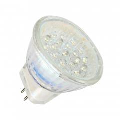 21 LED Strahler MR11 kaltweiß 12V