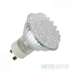 38 LED Strahler GU10 Kaltweiß 230V