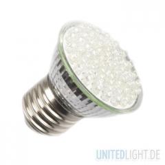 60 LED Strahler E27 Kaltweiß 230V