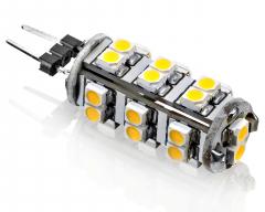 26 SMD G4 LED SMD Strahler Warmweiß 12V