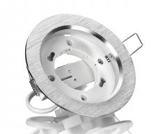 Aluminium Einbaustrahler GX53 230V Rund