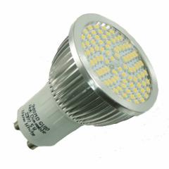 90 SMD Strahler GU10 mit 380 Lumen warmweiß