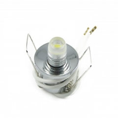 20er Sternenhimmel Set LED G4  + Einbauspot chrom Rund inkl. Trafo