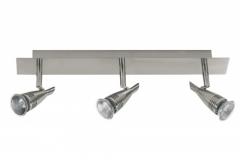 3er Paulmann Balkenleuchte Deckenlampe Strahler 230V Metall