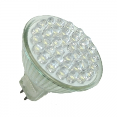 High Lumen 128 LED E14 Kerze Warmweiß 550 Lumen