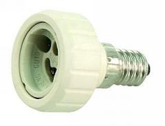 Lampenfassung Adapter Sockel E14 auf GU10 Fassung