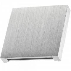LED Wand- Treppenleuchte Aluminium Stufenbeleuchtung 230V nur 1W warmweiß