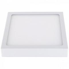 LED Panel Deckenleuchte Aufbauleuchte eckig 18W warmweiß