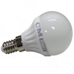 LED Kugelbirne 4W E14 warmweiß 320 Lumen wie 35W Halogen