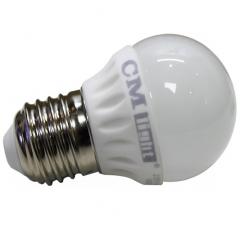 LED Kugelbirne 4W E27 warmweiß 320 Lumen wie 35W Halogen