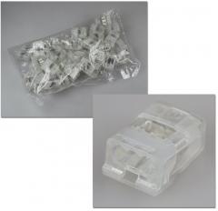 Dosenklemmen 3-polig 1-2,5mm² 50 Stück-Packung
