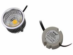 5W Power LED COB Strahler 18-22V mit Netzteil warmweiß