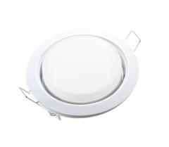 Metall Einbaustrahler GX53 weiß mit 6W LED 230V
