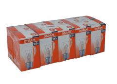 10er Set OSRAM Glühlampe Glühbirne E27 100W Klar
