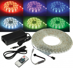 RGB LED-Strip Set RGB-1000 RF 10m