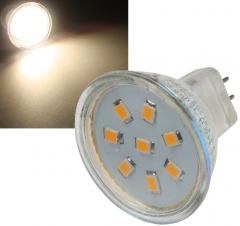 LED Strahler MR11, 8x 2835 SMD LEDs