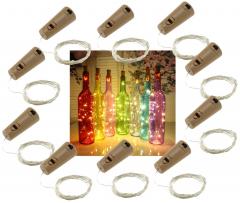 LED Flaschen-Lichterkette
