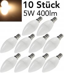 LED Kerzenlampe E14 K50 Promo 10er-Set