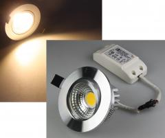 LED-Einbauleuchte COB-3, 3W, 250lm