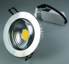 LED-Einbauleuchte COB-7, 7W, 450lm