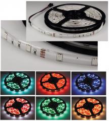LED-Stripe RGB, 2m lang, 60 LEDs