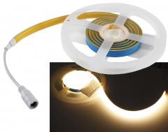 LED-Stripe CLS-COB 5m, warmweiß