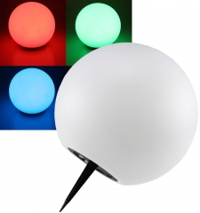 LED Solar Kugelleuchte 25cm Ø SK25 RGB